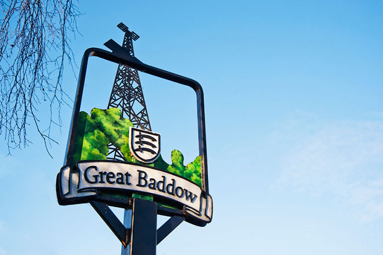 great baddow sign
