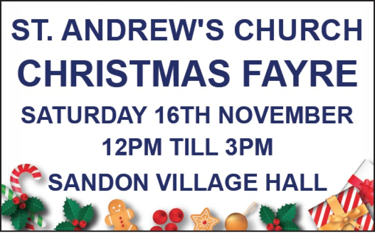 St Andrew's Church Christmas Fayre