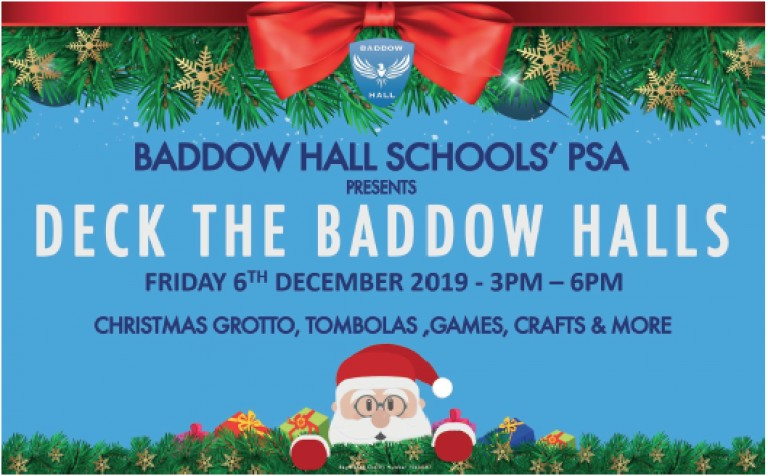 Baddow Hall Deck the Halls Event