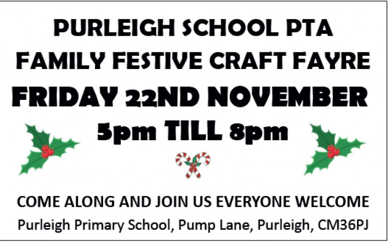 Purleigh School Festive Craft Fair